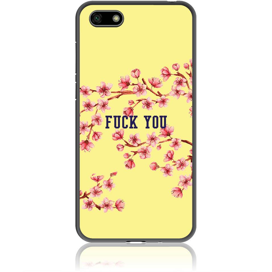 Smells Like A Fuck You Phone Case Design 50237  -  Honor 7s  -  Soft Tpu Case