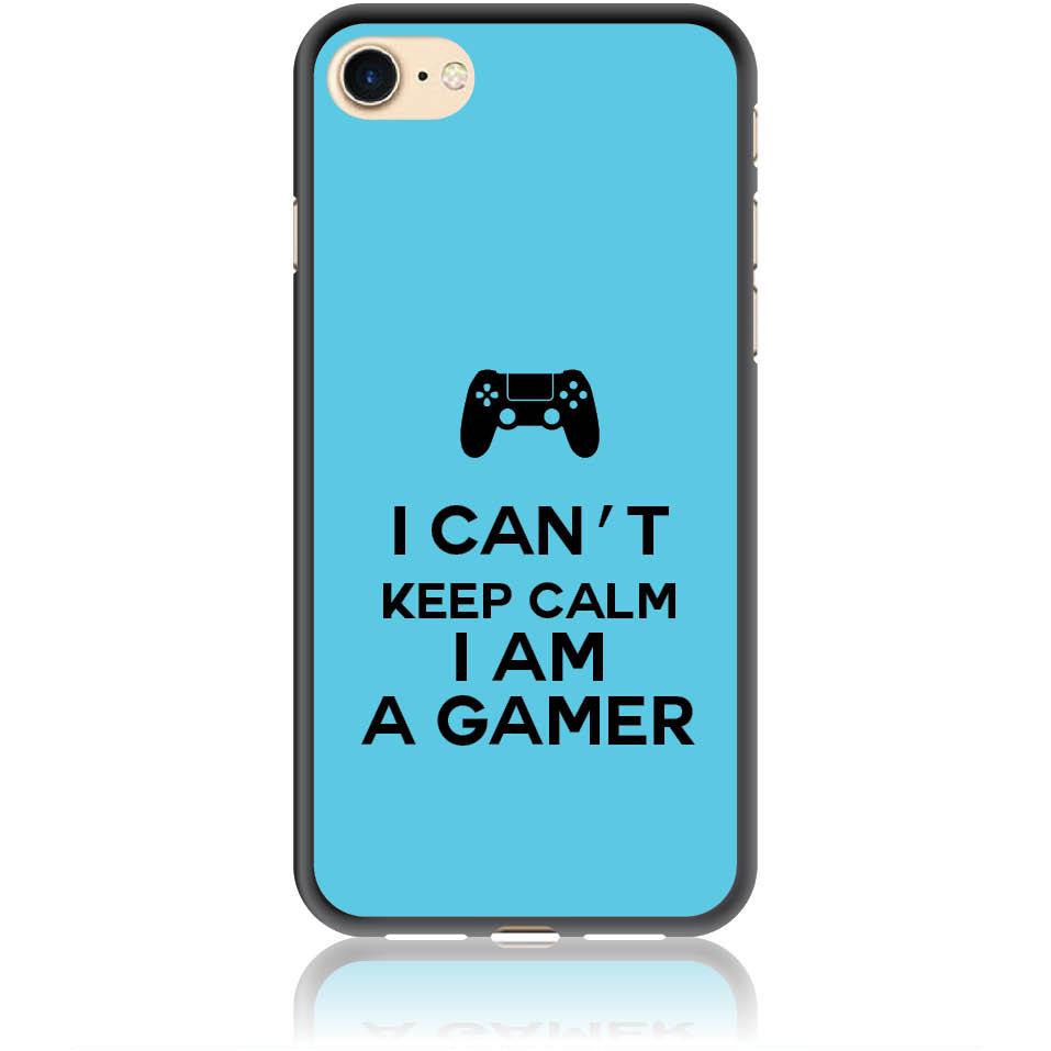 Can't Keep Calm Gamer Phone Case Design 50259  -  Iphone 7  -  Soft Tpu Case
