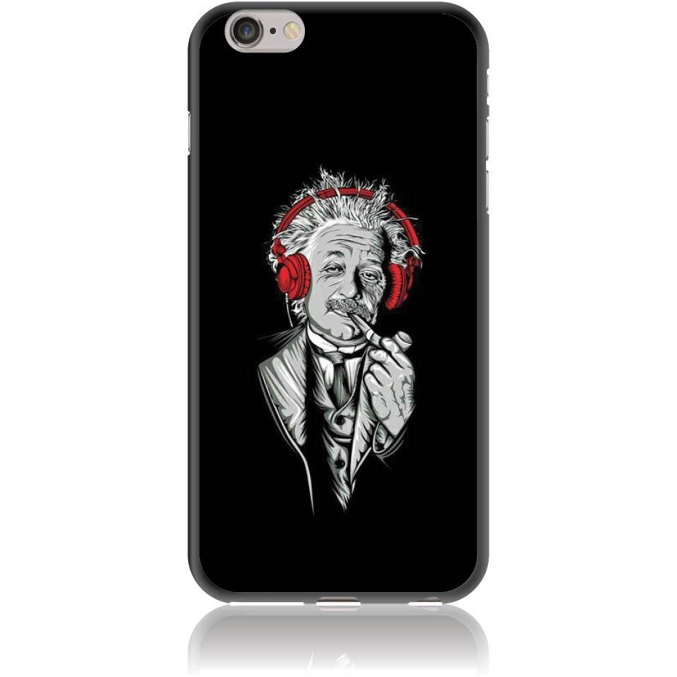 Funky Cool Einstein Phone Case Design 50260  -  Iphone 6/6s Plus  -  Soft Tpu Case