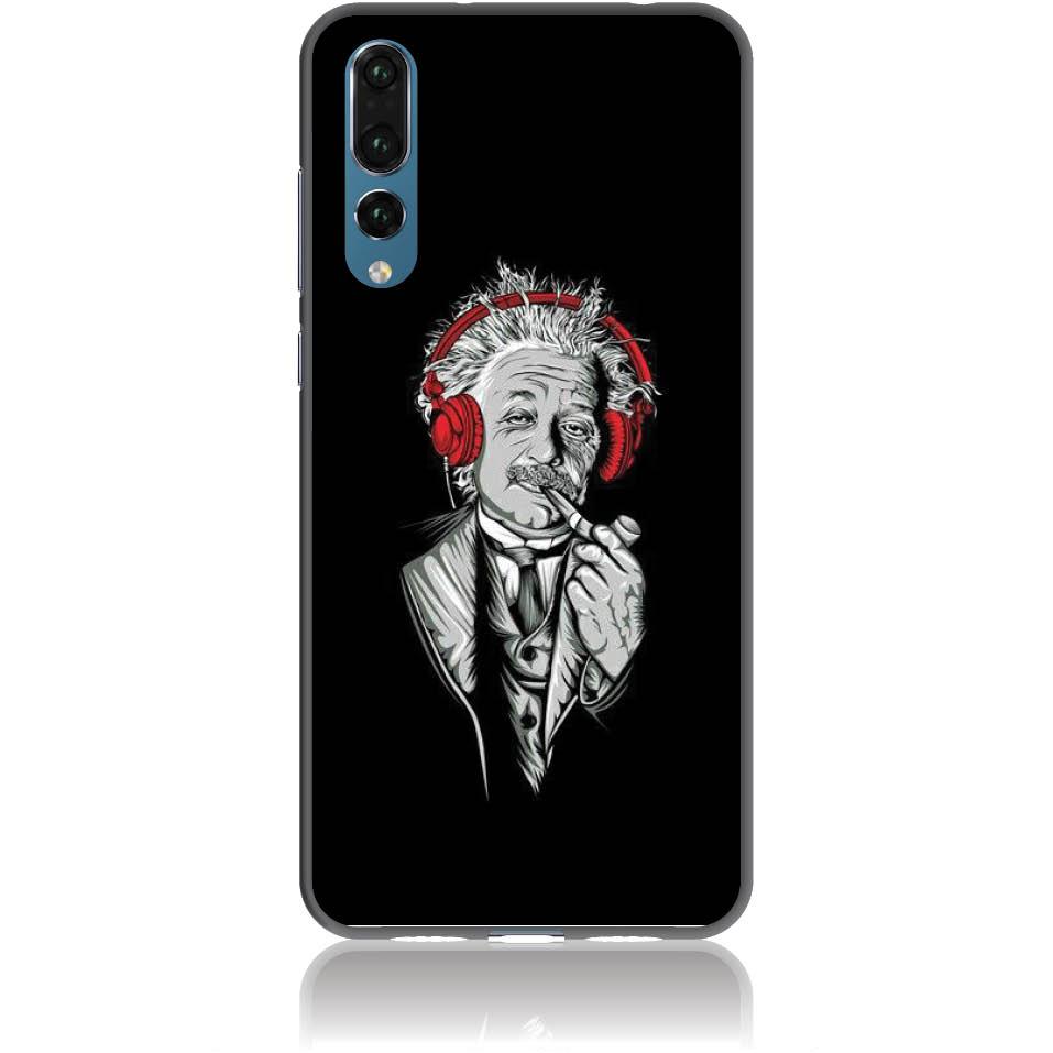Funky Cool Einstein Phone Case Design 50260  -  Huawei P20 Pro  -  Soft Tpu Case