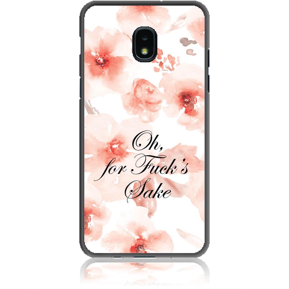 Fuck's Shake Phone Case Design 50263  -  Samsung Galaxy J3 (2018)  -  Soft Tpu Case