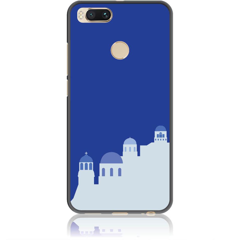 Santorini Pure Blue Phone Case Design 50294  -  Xiaomi Mi 5x  -  Soft Tpu Case