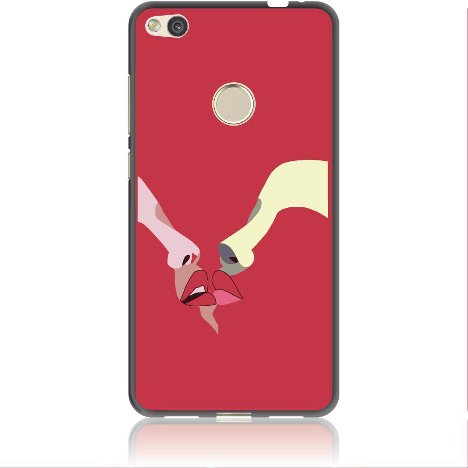 Red Lovers Phone Case Design 50297  -  Huawei Nova Lite  -  Soft Tpu Case
