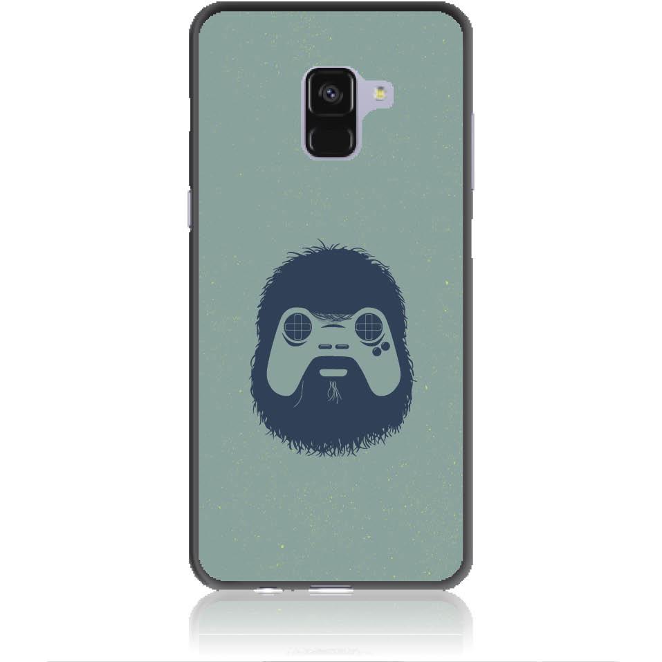 Game Face On Phone Case Design 50299  -  Samsung Galaxy A8+ (2018)  -  Soft Tpu Case