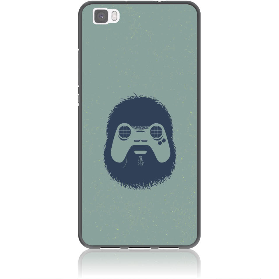 Game Face On Phone Case Design 50299  -  Huawei P8 Lite  -  Soft Tpu Case
