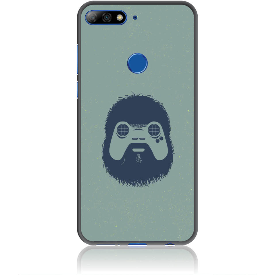 Game Face On Phone Case Design 50299  -  Huawei Y7 Prime 2018  -  Soft Tpu Case