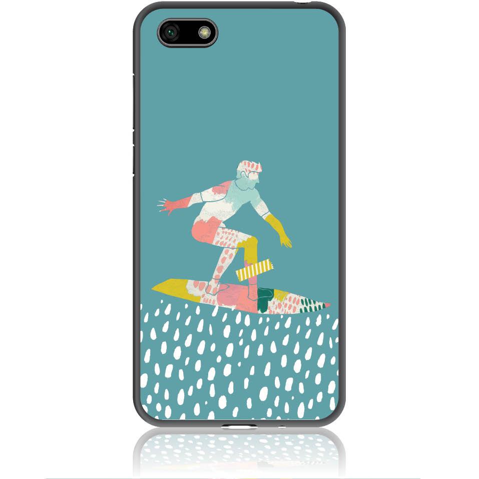 Surf Boy Phone Case Design 50305  -  Honor 7s  -  Soft Tpu Case