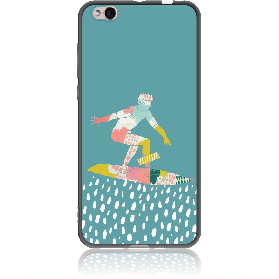 Surf Boy Phone Case Design 50305  -  Xiaomi Mi 5c  -  Soft Tpu Case