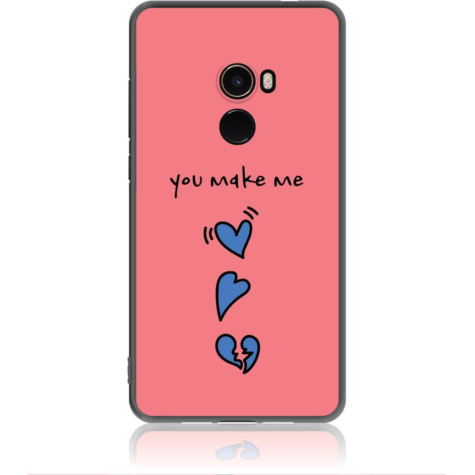 Shake My Heart Phone Case Design 50315  -  Xiaomi Mi Mix 2  -  Soft Tpu Case