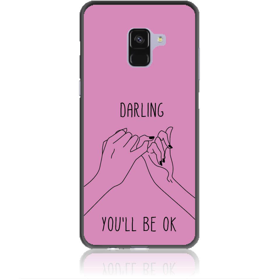 You'll Be Ok Phone Case Design 50322  -  Samsung Galaxy A8+ (2018)  -  Soft Tpu Case