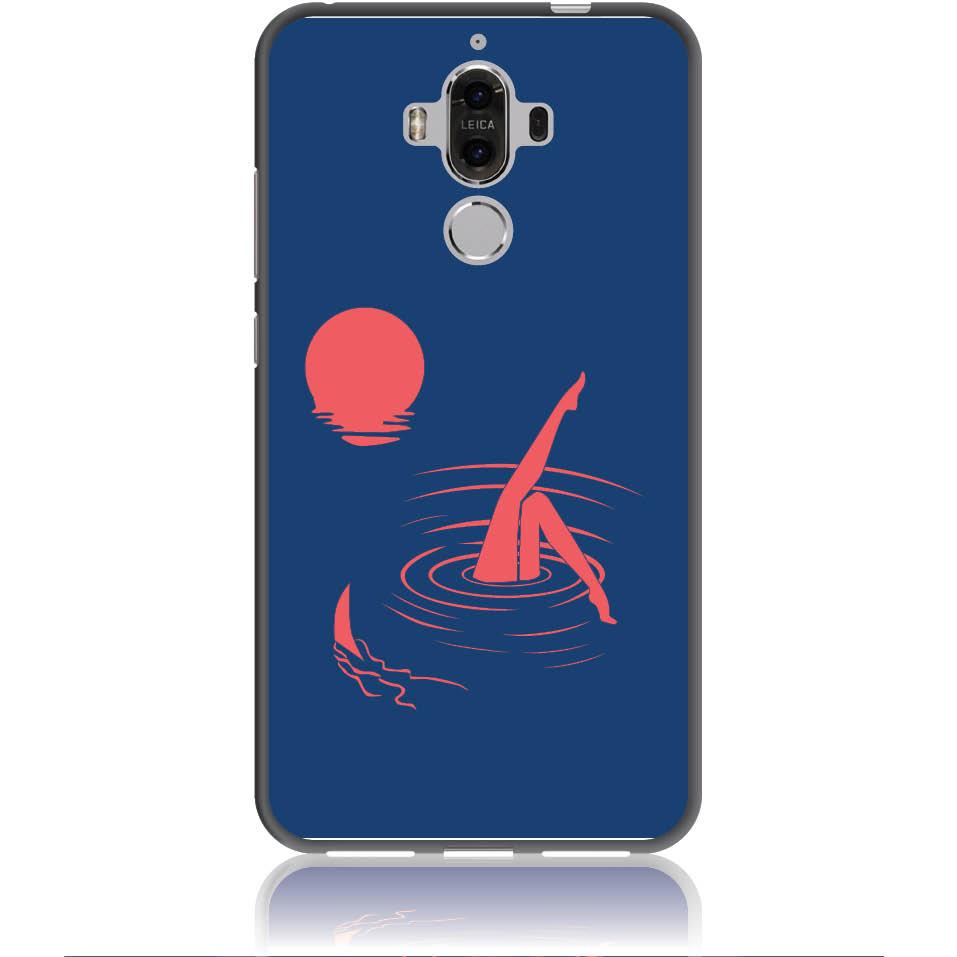 Take Risk Stay Humble Blue Phone Case Design 50331  -  Huawei Mate 9  -  Soft Tpu Case