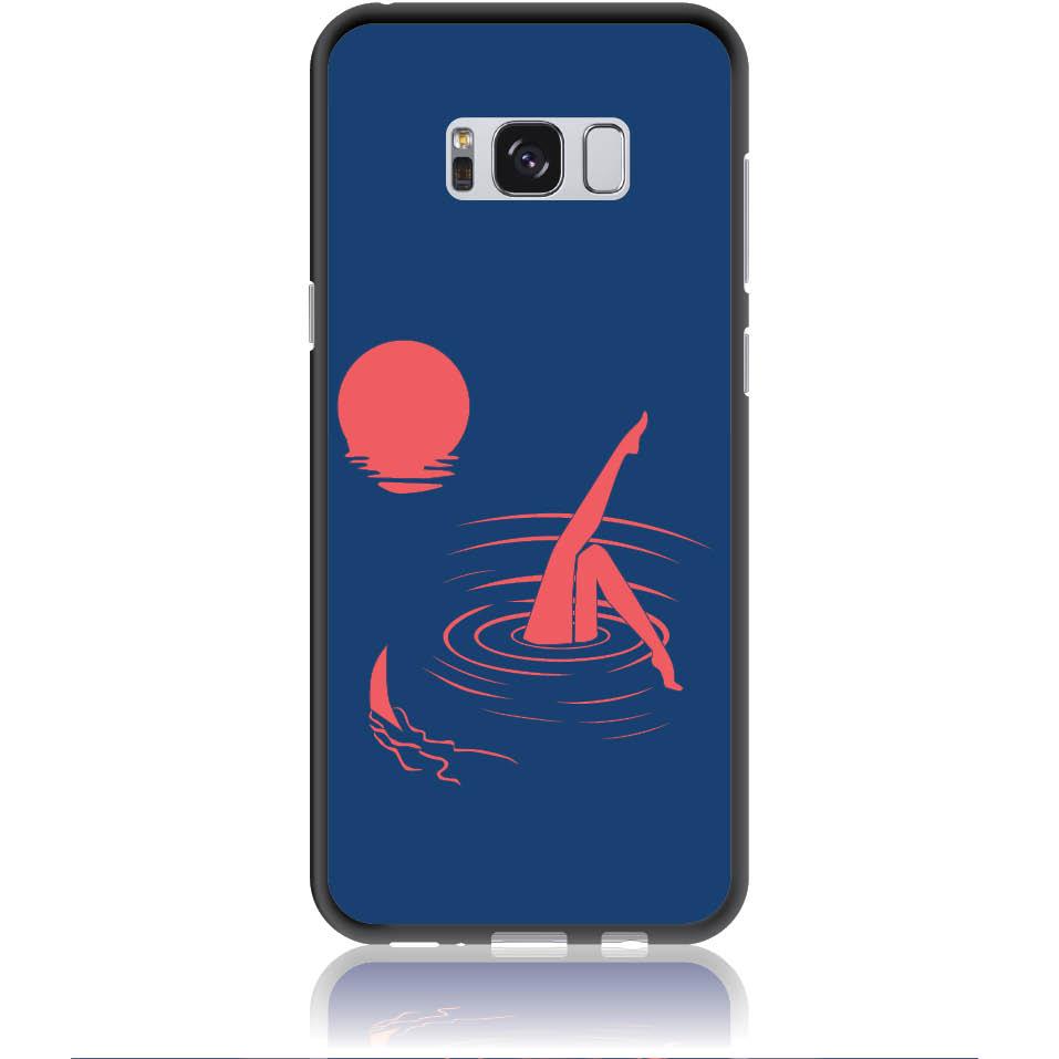 Take Risk Stay Humble Blue Phone Case Design 50331  -  Samsung Galaxy S8+  -  Soft Tpu Case