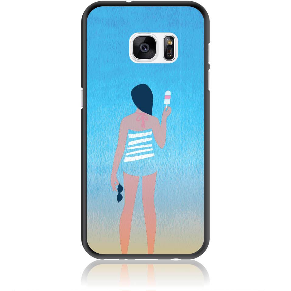 Delicious Summer Phone Case Design 50332  -  Samsung Galaxy S7  -  Soft Tpu Case