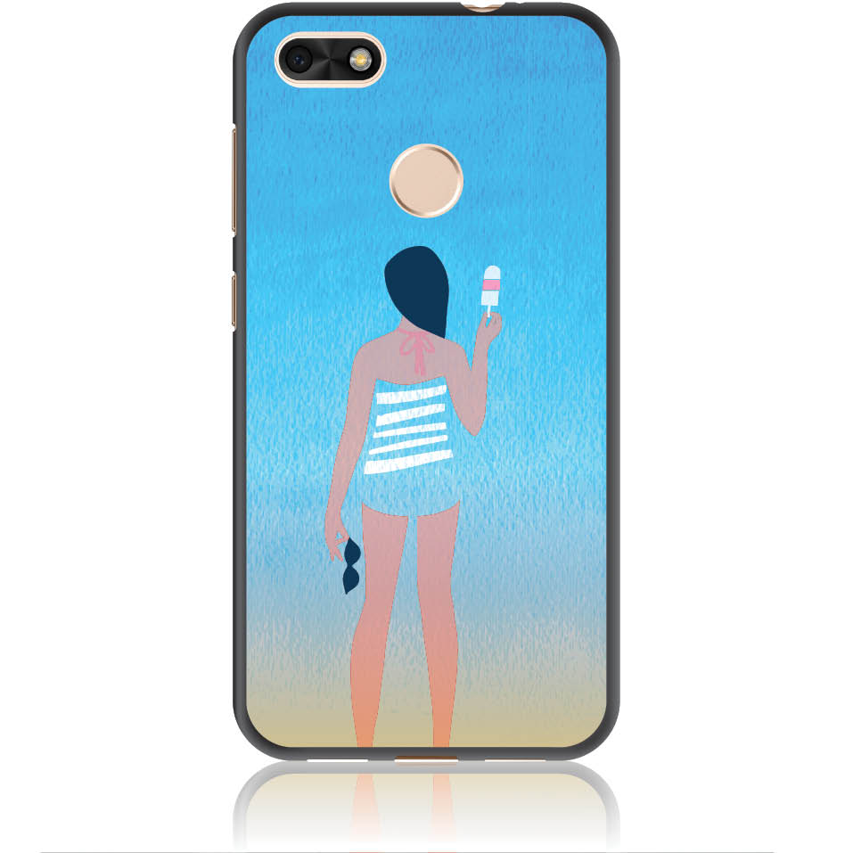 Delicious Summer Phone Case Design 50332  -  Huawei Y6 Pro 2017  -  Soft Tpu Case