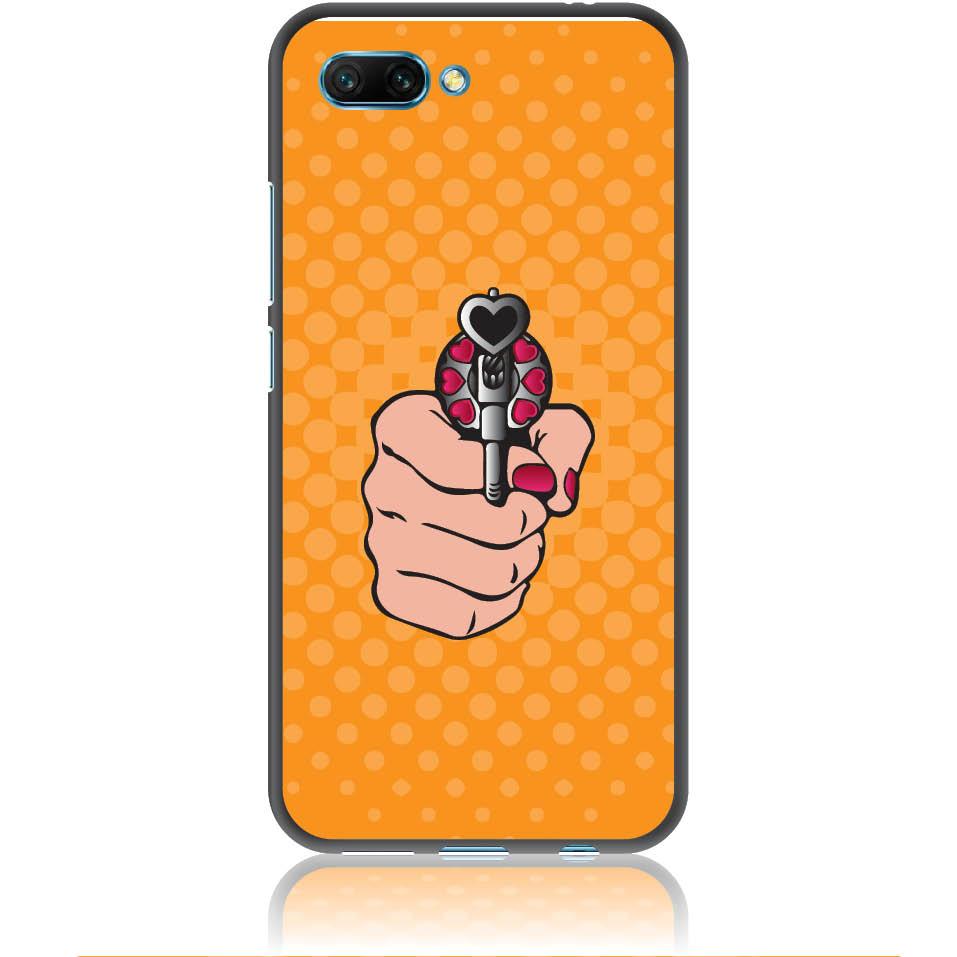 Love Gun Pop Art Phone Case Design 50333  -  Honor 10  -  Soft Tpu Case