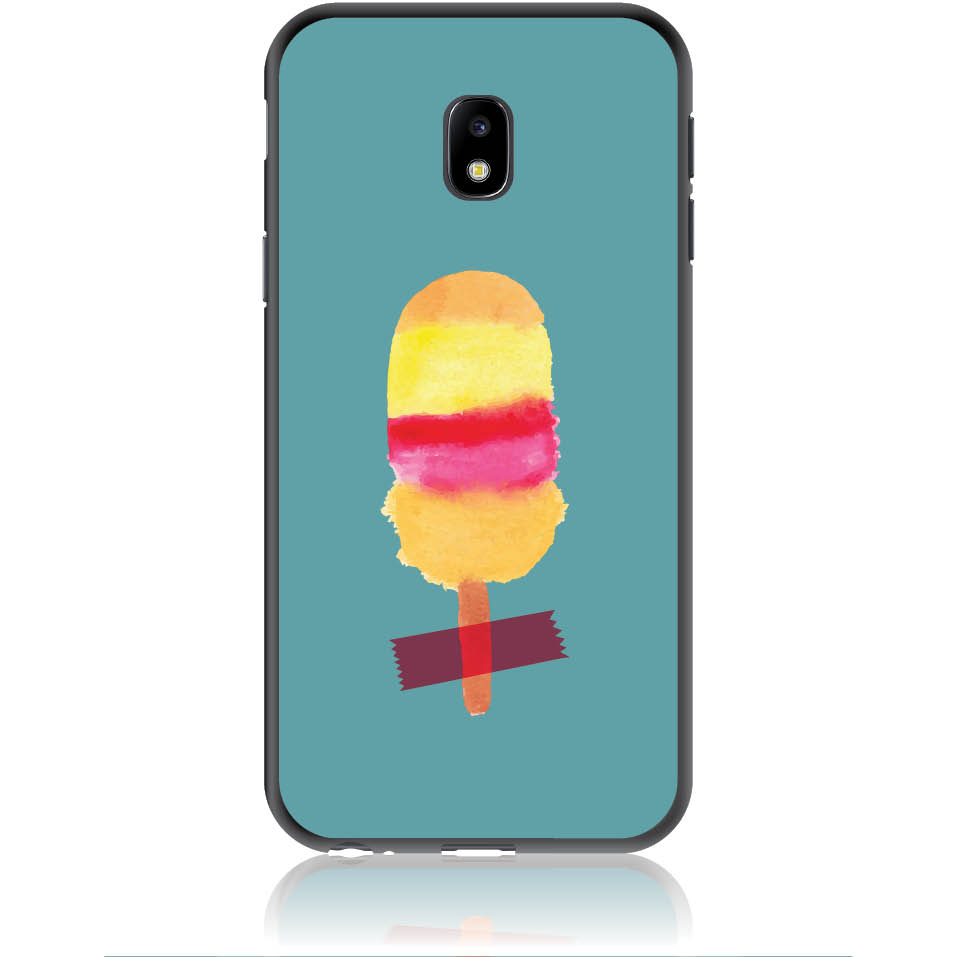Sweet Summer Stuck Phone Case Design 50334  -  Samsung Galaxy J3 (2017) J330  -  Soft Tpu Case