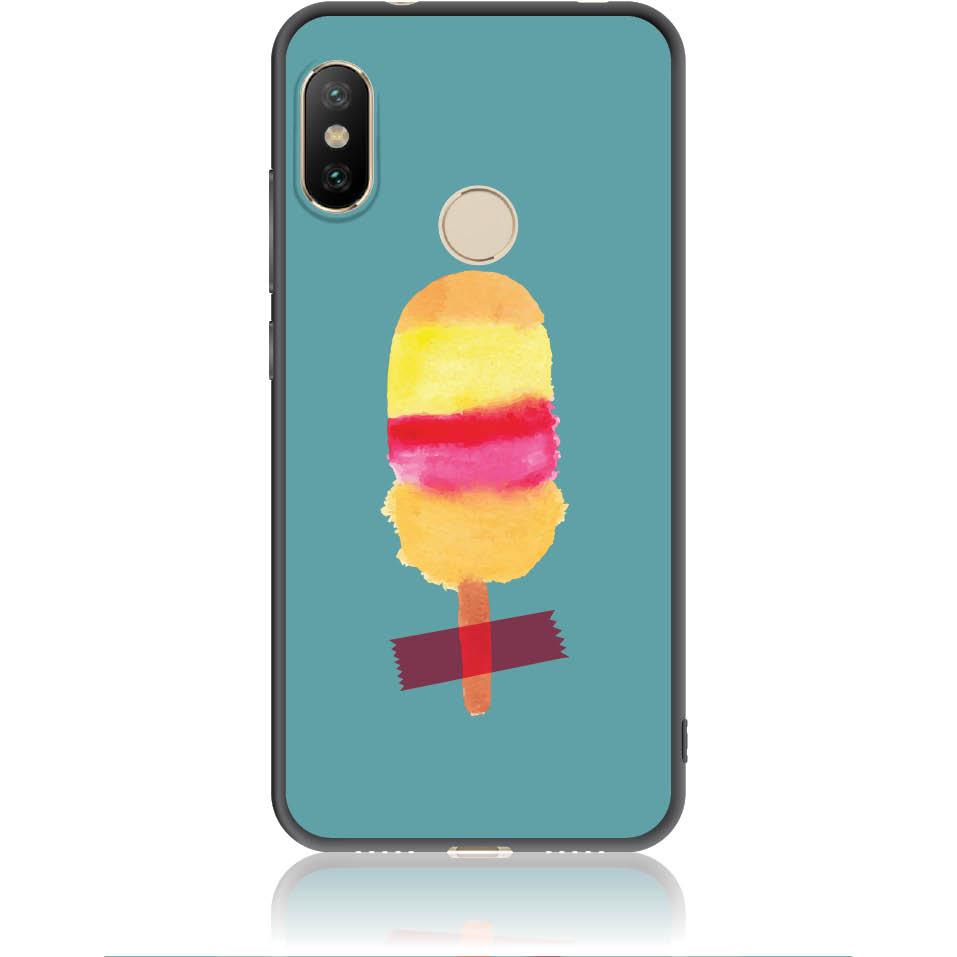 Sweet Summer Stuck Phone Case Design 50334  -  Xiaomi Mi A2 Lite  -  Soft Tpu Case