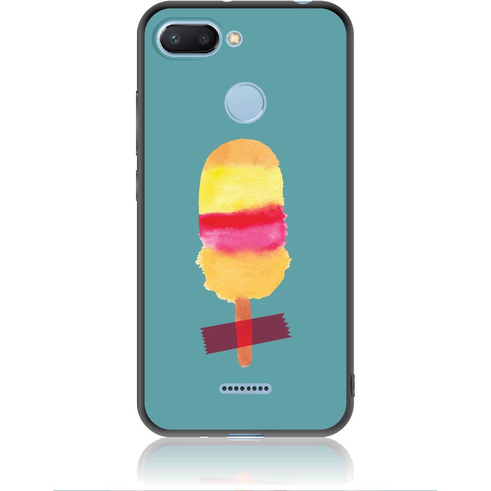 Sweet Summer Stuck Phone Case Design 50334  -  Xiaomi Redmi 6  -  Soft Tpu Case