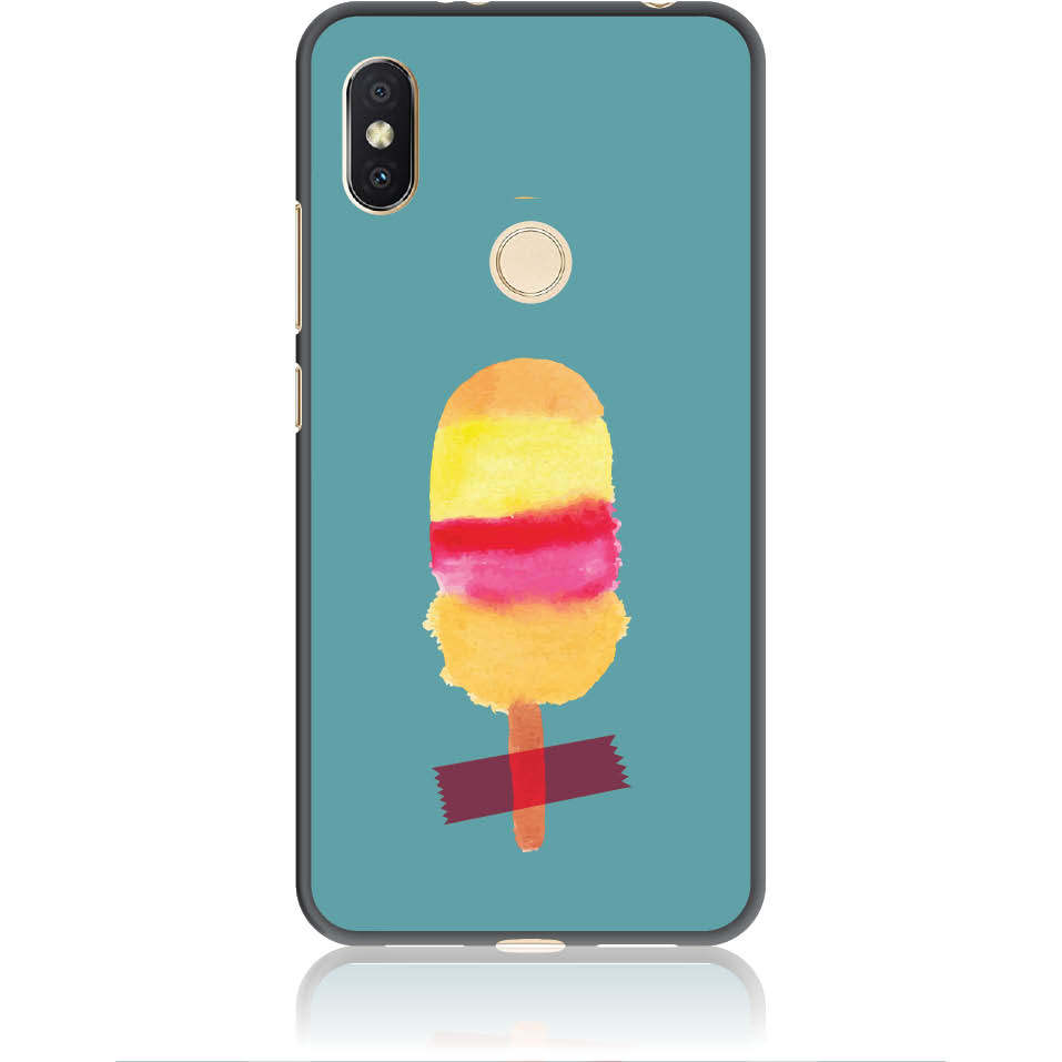 Sweet Summer Stuck Phone Case Design 50334  -  Xiaomi Redmi Y2  -  Soft Tpu Case