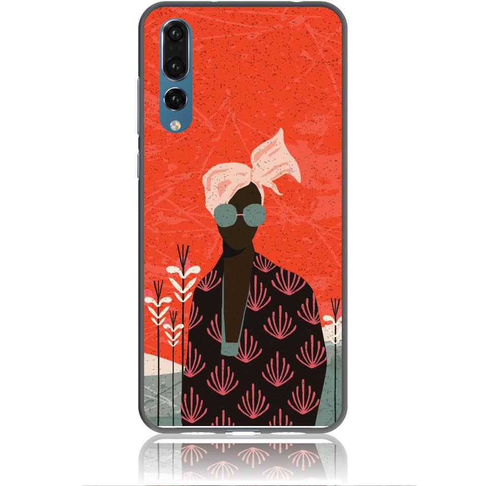 Melanin Afro Beauty Phone Case Design 50348  -  Huawei P20 Pro  -  Soft Tpu Case
