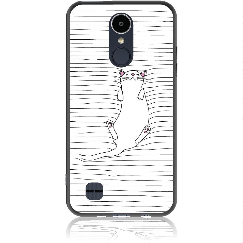 Tender Kitty Miaou Phone Case Design 50363  -  Lg K8 2017  -  Soft Tpu Case