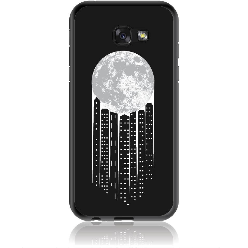City Moonlight Phone Case Design 50369  -  Samsung Galaxy A5 (2017)  -  Soft Tpu Case