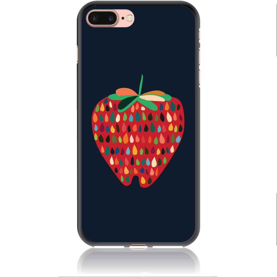 Unbite Strawberry Passion Phone Case Design 50373  -  Iphone 7 Plus  -  Soft Tpu Case