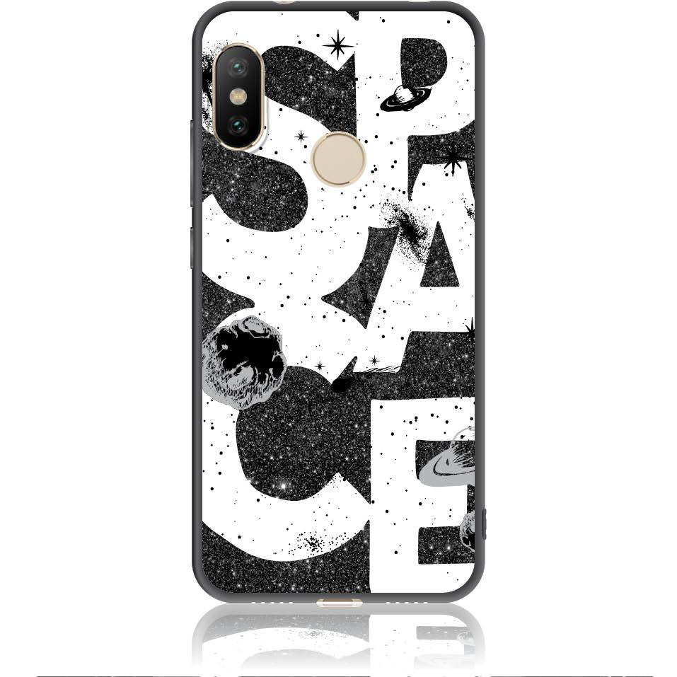 Space Art Phone Case Design 50375  -  Xiaomi Redmi 6 Pro  -  Soft Tpu Case