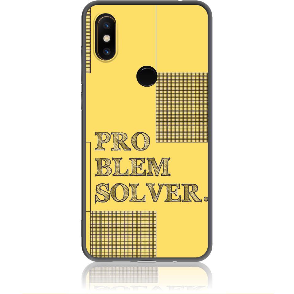 Problem Solver Phone Case Design 50381  -  Xiaomi Mi Mix 2s  -  Soft Tpu Case