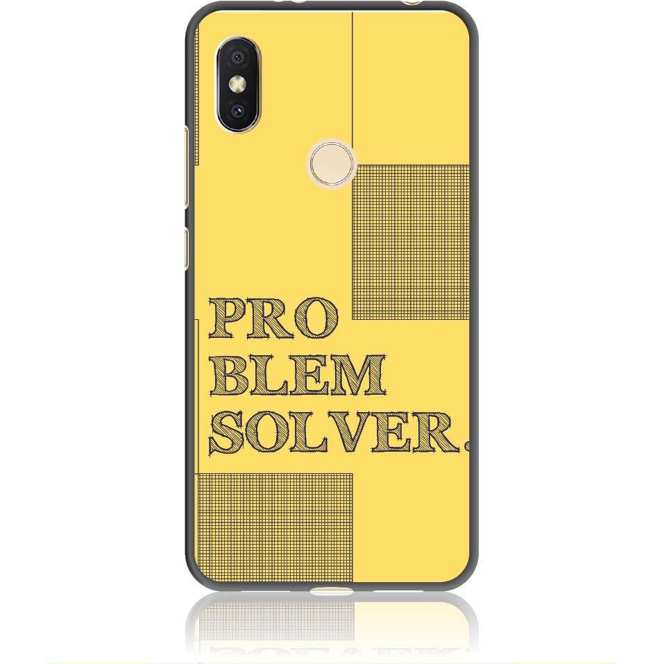 Problem Solver Phone Case Design 50381  -  Xiaomi Redmi Y2  -  Soft Tpu Case