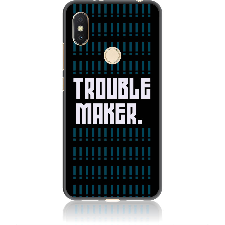 Trouble Maker Phone Case Design 50382  -  Xiaomi Redmi Y2  -  Soft Tpu Case