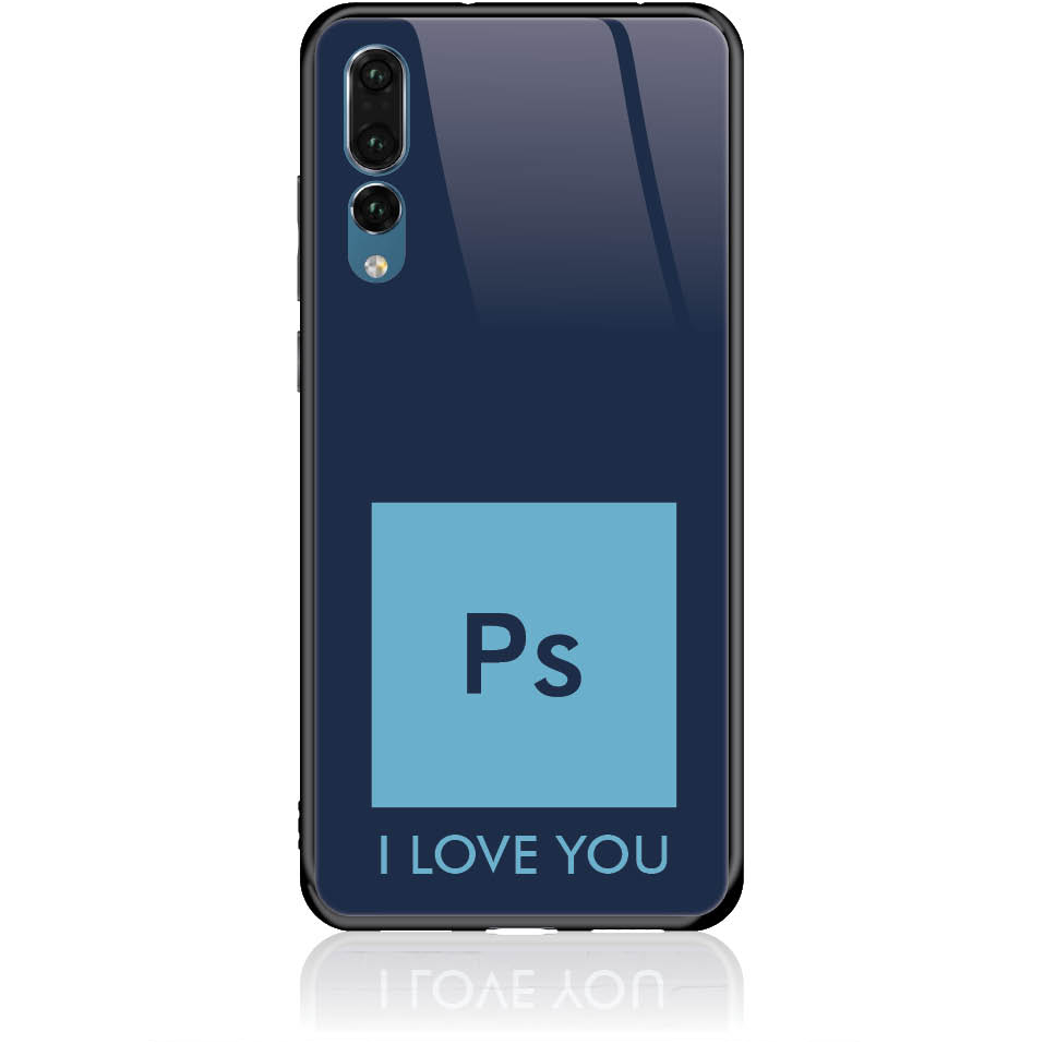 Case Design 50024  -  Huawei P20 Pro  -  Tempered Glass Case