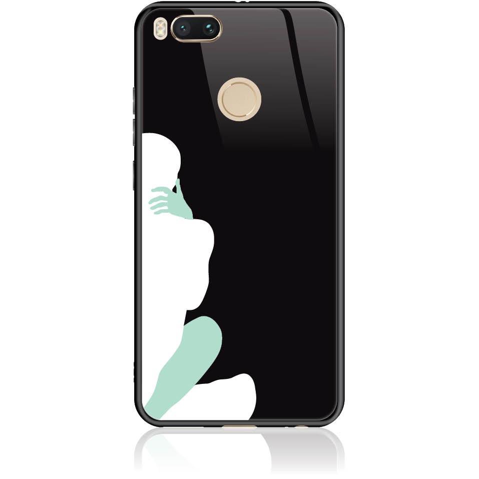 Hold Me Love Me Phone Case Design 50025  -  Xiaomi Mi A1  -  Tempered Glass Case