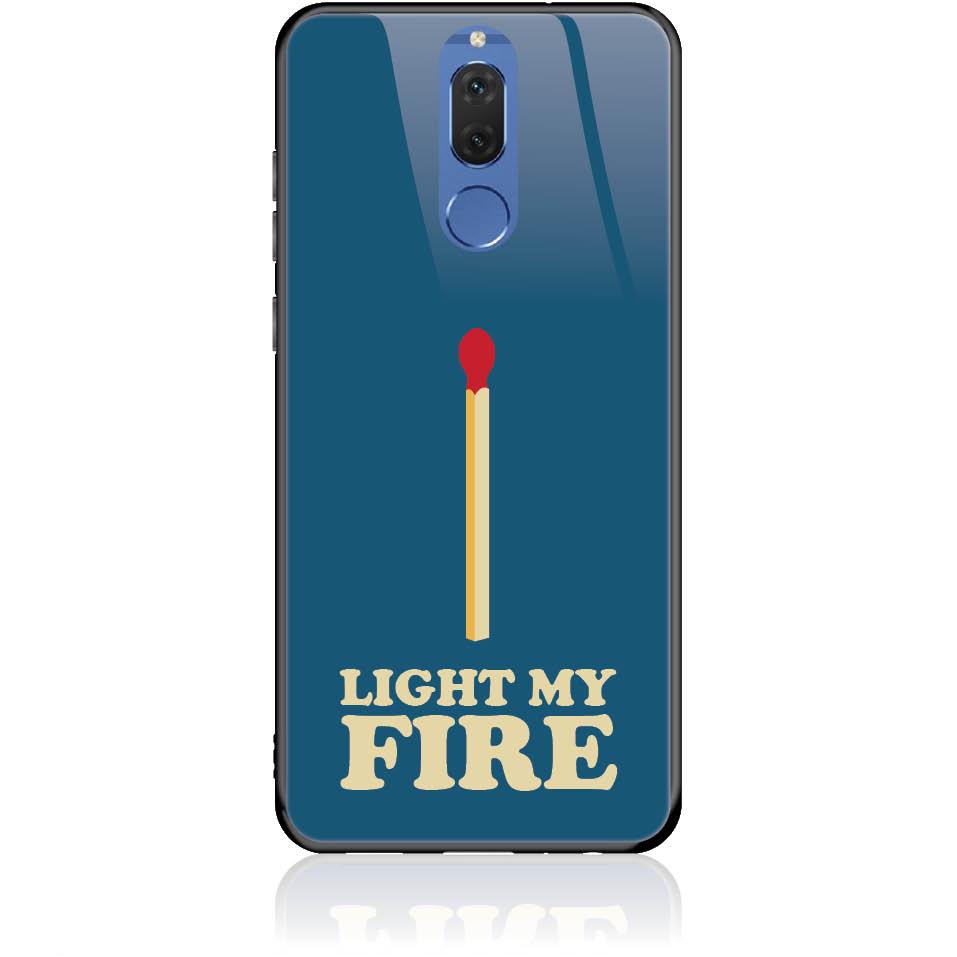 Case Design 50027  -  Huawei Mate 10 Lite  -  Tempered Glass Case