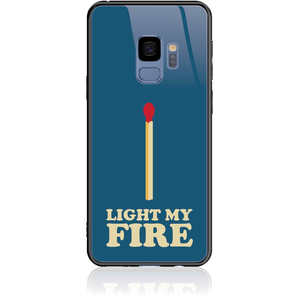 Case Design 50027  -  Samsung Galaxy S9  -  Tempered Glass Case