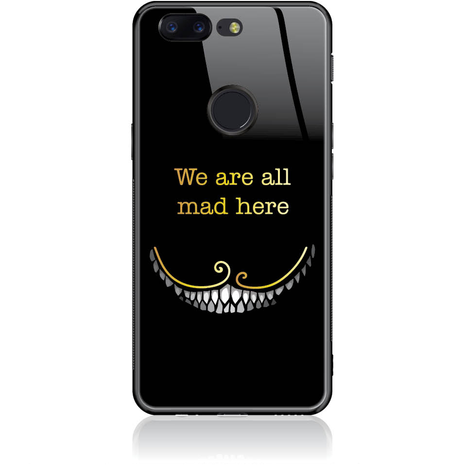 Case Design 50033  -  One Plus 5t  -  Tempered Glass Case