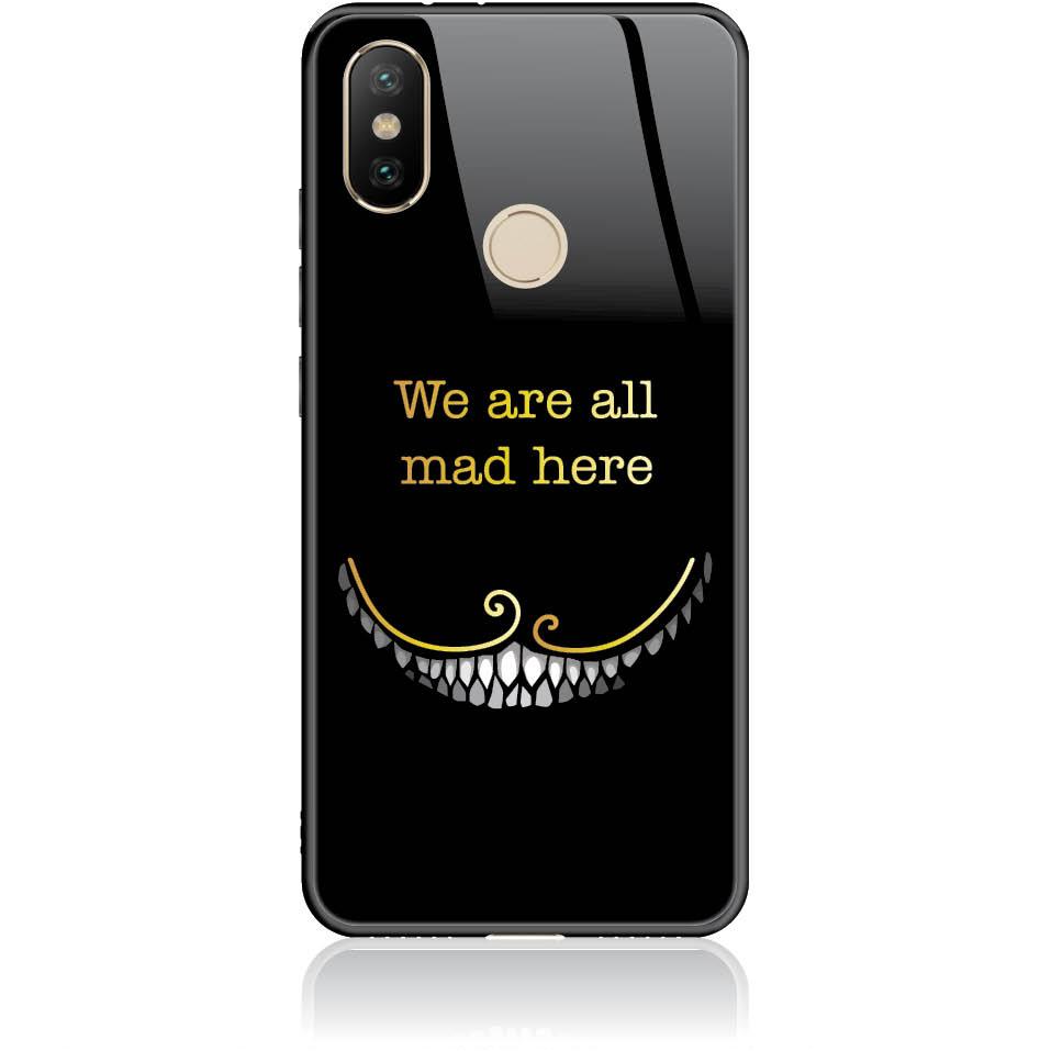 Case Design 50033  -  Xiaomi Mi 6x  -  Tempered Glass Case