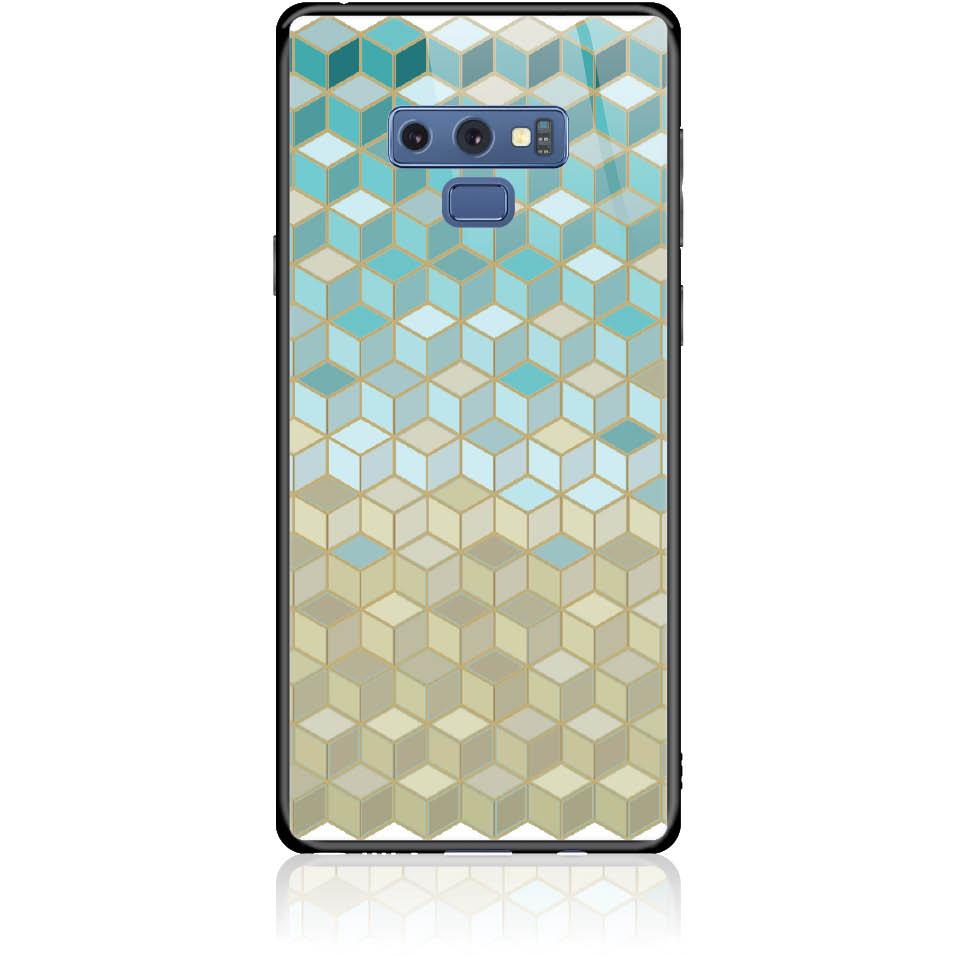 Pattern Phone Case Design 50034  -  Samsung Galaxy Note 9  -  Tempered Glass Case