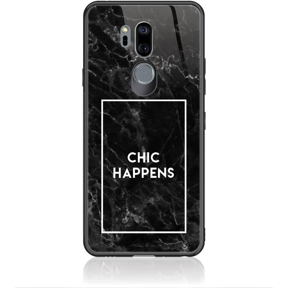 Case Design 50063  -  Lg G7 Thinq  -  Tempered Glass Case