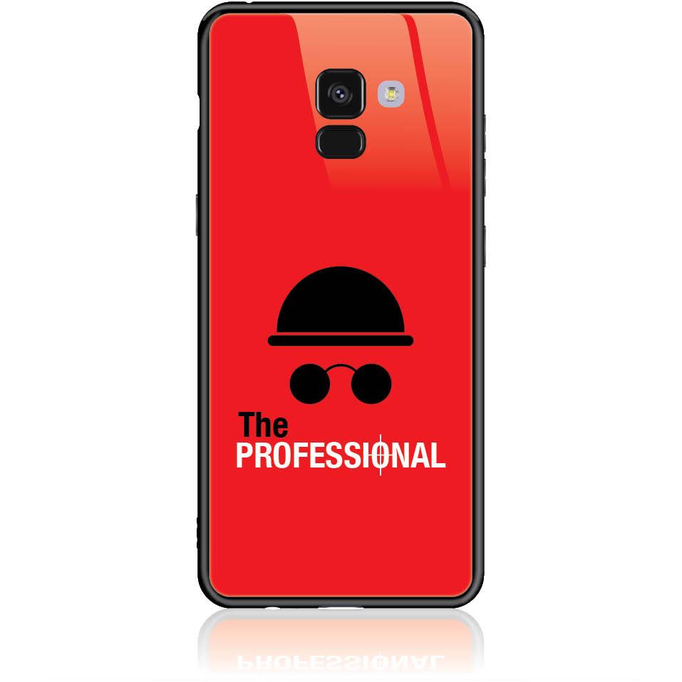 Case Design 50081  -  Samsung Galaxy A8+ (2018)  -  Tempered Glass Case