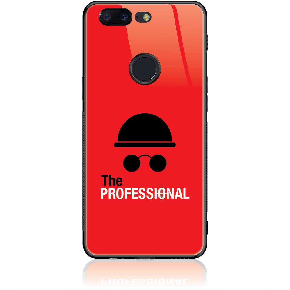 Case Design 50081  -  One Plus 5t  -  Tempered Glass Case