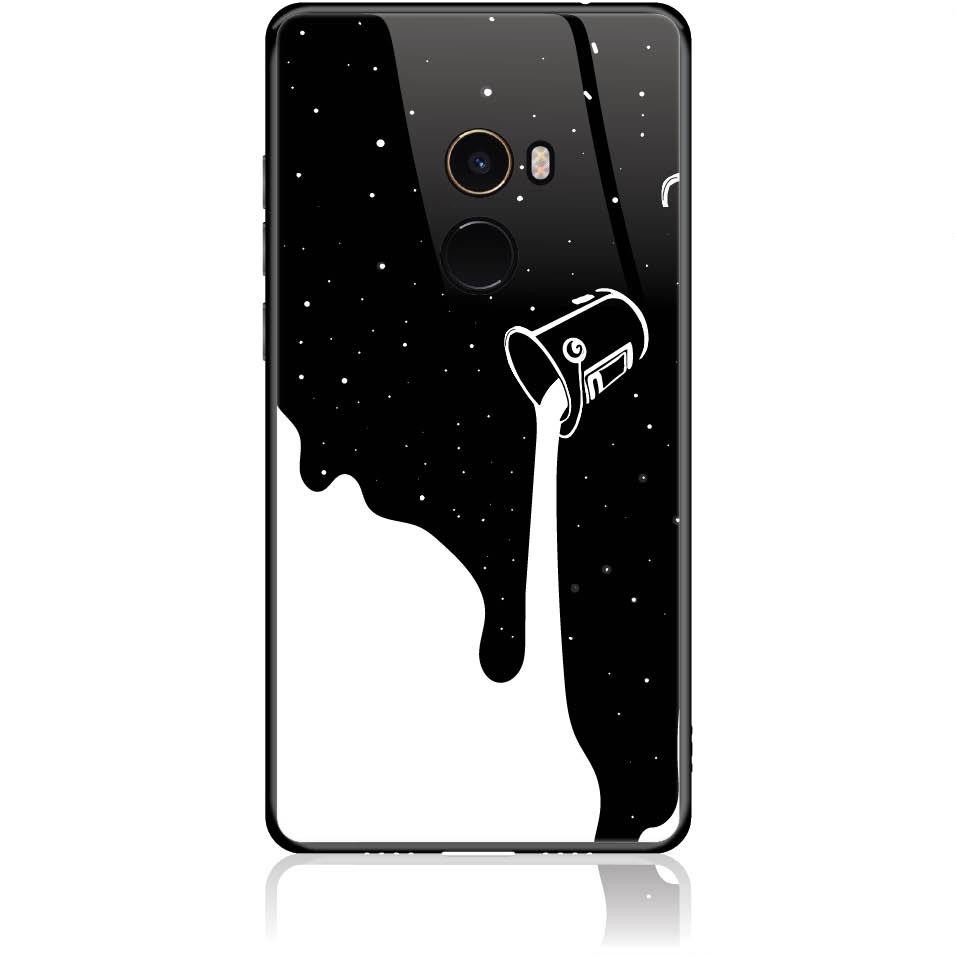 Case Design 50086  -  Xiaomi Mi Mix 2  -  Tempered Glass Case