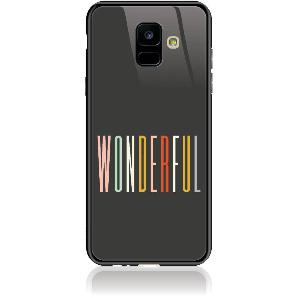 Case Design 50091  -  Samsung Galaxy A6 (2018)  -  Tempered Glass Case