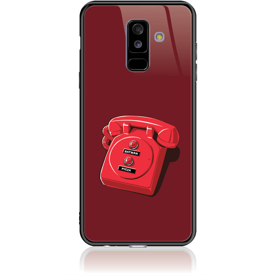 Retro Is Back Phone Case Design 50095  -  Samsung Galaxy A6+ (2018)  -  Tempered Glass Case