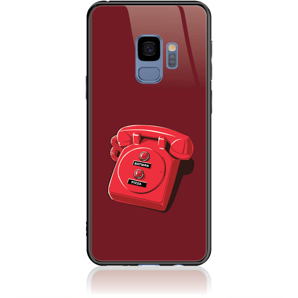 Retro Is Back Phone Case Design 50095  -  Samsung Galaxy S9  -  Tempered Glass Case
