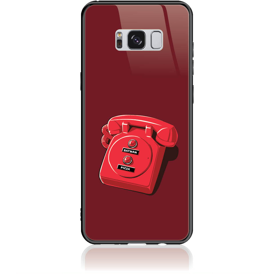 Retro Is Back Phone Case Design 50095  -  Samsung Galaxy S8+  -  Tempered Glass Case