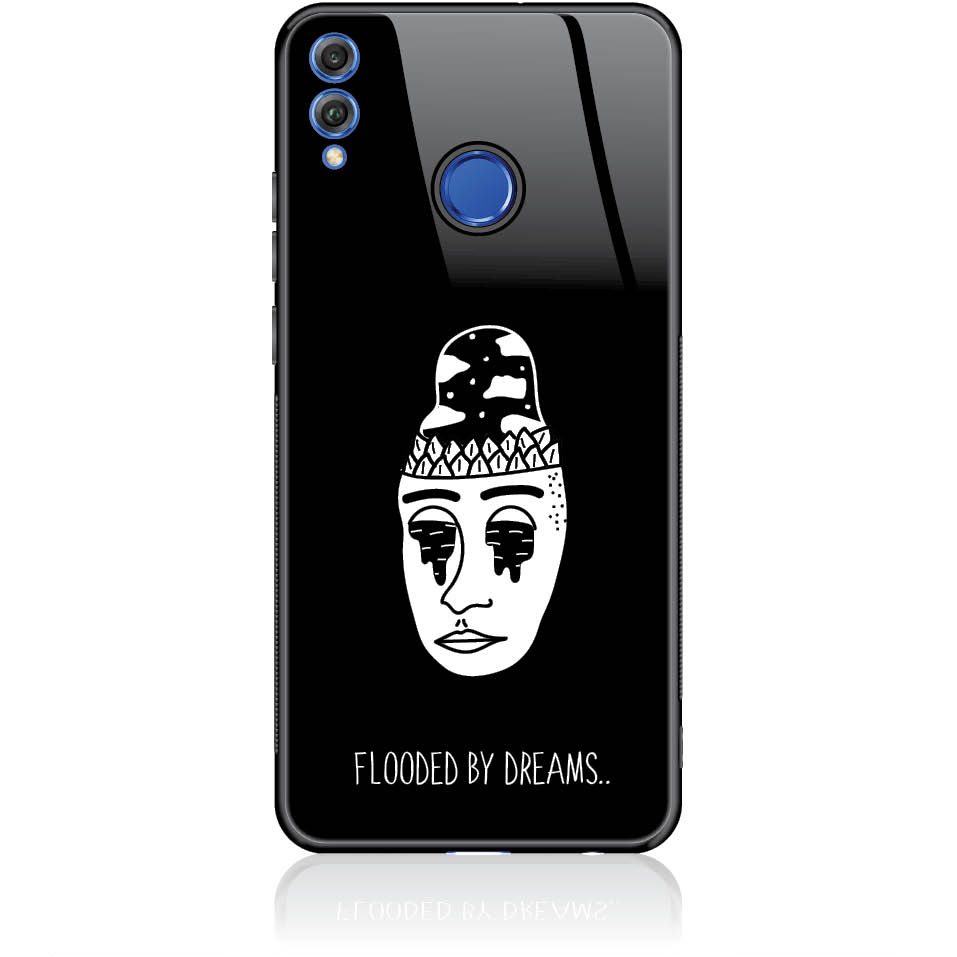 Flooded By Dreams Phone Case Design 50101  -  Honor 9 Lite  -  Tempered Glass Case