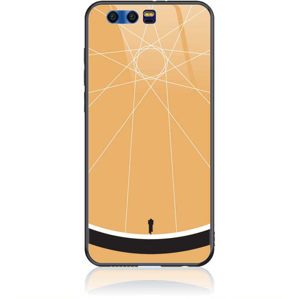 Cyclologist Minimal Phone Case Design 50110  -  Honor 9  -  Tempered Glass Case