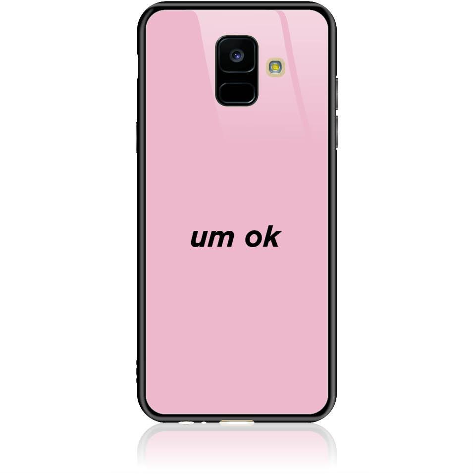 Case Design 50114  -  Samsung Galaxy A6 (2018)  -  Tempered Glass Case