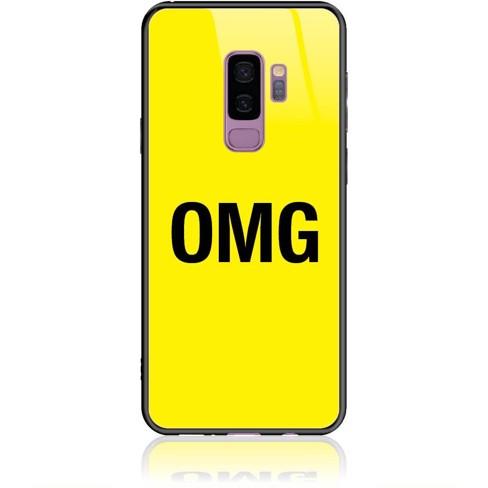 Case Design 50115  -  Samsung Galaxy S9+  -  Tempered Glass Case